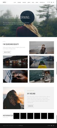 Napoli - Modern Photography Portfolio Theme for Wordpress