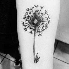 Dandelion tattoo #dandelion #tattoo