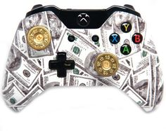 Money Shot Gun Shells Xbox One Rapid Fire Modded Controller 40 Mods for COD BO2 BO3 Advanced Warfare Destiny Ghosts Quickscope Jitter Drop Shot Auto Aim Jump Shot Auto Sprint Fast Reload Much More -- More info could be found at the image url.Note:It is affiliate link to Amazon.