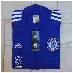 adidas Chelsea 14/15 Anthem Track Top - Chelsea Blue/White/Core Blue سفارش آقای رحیمی عزیز که به دستمون رسیده امیدواریم به زودی دریافت شه و مبارکشون باشه