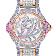 CARL F. BUCHERER Pathos Swan jewelry watch for Baselworld 2016