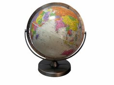 "vintage 1951 12"" replogle globe 