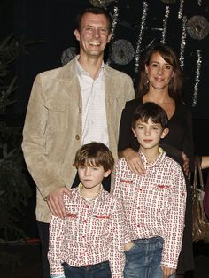 Prince Joachim of Denmark, Princess Marie (step-mom), Prince Nikolai and Prince Felix