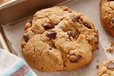 The Ultimate Gluten Free* Chocolate Chip Cookie - When gluten free baking tastes this delicious, there's a reason we call it The Ultimate Gluten Free Chocolate Chip Cookie.