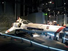 Battlestar Galactica Viper Mark II... from the BSG exhibition in Seattle by kumasawa, via Flickr