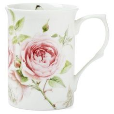 Check out this item at One Kings Lane! S/4 Beau Rose Mugs