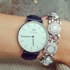 Loving the way Lurchhoundloves Fashion & Beauty has paired her rose empire chain bracelet with her watch! very chic! www.lolurhoda.com