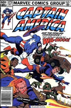 Captain America #273, September 1982, cover by Mike Zeck