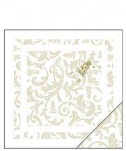 KLvB Kissenbezüge, royale Bezüge in weiß und gold aus dem edelsten Brokat und Damast, jeweils bestickt mit dem königlichen Signet.