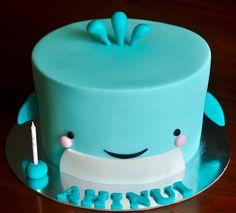 Whale Theme Cake
