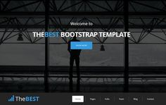 TheBEST - Corporate Business Theme by bootstrapbrothers on @creativemarket