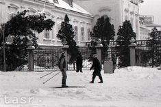 Bratislava, Old Photos, Nostalgia, Street View, Snow, Places, Outdoor, Beautiful, Pictures