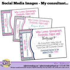 "Social Media Image - ""My consultant..."", $7.00"