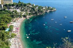 Cap d'Ail in the French #Riviera has one of the prettiest beaches in the country! http://www.nyhabitat.com/blog/2014/03/17/apartments-with-view-mediterranean-sea-france/