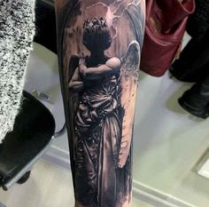 Tattoo Of God Angel