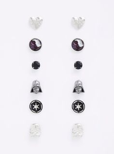 Star Wars Imperial stud earring set available at Torrid