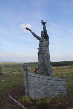 "Manannán mac Lir was a Celtic sea deity from the Bronze age known by a mystical race in Ireland, the same country Merlin advised Aurelius to recover the Giant's Dance Statue to honor his slain enemies. Natural philosophy and magic were highly controversial in belief, especially in the face of christianity. Some believed that objects like statues could be enchanted to have special curative powers, while others did not acknowledge magic or attributed alchemy to ""demonic"".  -Bryan C."