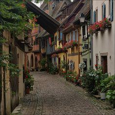 Old World Charm - Eguisheim, Alsace, France