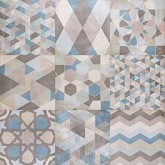 Idee rivestimento bagno - Decoro in stile cemento collezione ONE della Caesar http://www.caesar.it/piastrelle-gres-porcellanato/1540-One/index.jsp