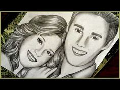 Drawing Martina Stoessel and Jorge Blanco | Violetta - YouTube