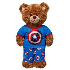 Captain America™ PJs 2 pc. | Build-A-Bear