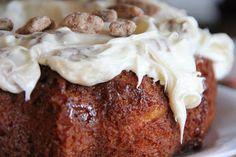 Apple Butterscotch Bundt Cake