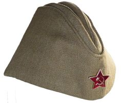 4d608c8cda561 Russian Army Pilotka Garrison Cap 58 Soviet Red Star RussianArmySurplus  Military Beret