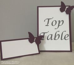 Phoebe - Handmade Bespoke Table and Place Name
