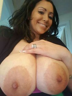 Big tits pancake areolas are going
