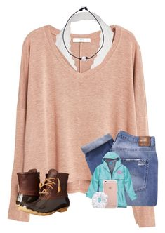 """""""tysm for 400!! {ootd}"""" by kendallthackston on Polyvore featuring MANGO, Free People, Nobody Denim, Sperry and Natasha"""