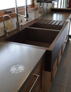 Hard Topix - local concrete countertops