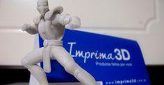 Você já conhece a tecnologia das impressoras 3D ?  Eu quis conhecer e esta semana chegou meu primeiro modelo 3D.  Escolhi o site Imprima 3D ...