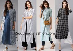 Formal dress for women office outfits india 35 Ideas Stylish Office Wear, Casual Office Attire, Office Outfits Women, Work Outfits, Indian Formal Wear, Formal Wear Women, Formal Dresses For Women, Indian Wear, Simple Kurta Designs