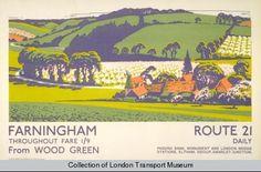 Farningham, by Walter E Spradbery, 1926