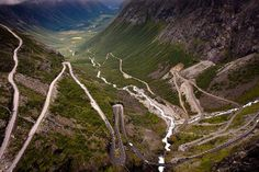 50 fotografias surpreendentes VIII - Noruega.  The greatest driving road in the world?