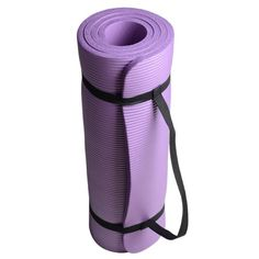 Crazy KA Multi Colors for Choosing 35 Inch 15mm Ecofriendly Thick Yoga Mats Exercise Mat with a Carry Sling Purple ** Read more  at the image link.