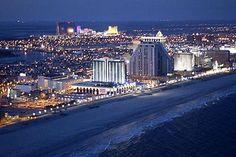 atlantic city nj at night