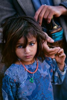 Yemeni girl -  by Steve McCurry