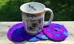 A personal favorite from my Etsy shop https://www.etsy.com/listing/244579282/handmade-drink-crochet-coaster-set-beer
