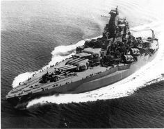 "anchors-aweigh-navy: ""Battleship USS Tennessee underway in Tennessee was heavily damaged at Pearl Harbor, and received an extensive refit before returning to the Pacific war. Naval History, Military History, Marine Military, Military News, Navy Marine, Us Battleships, Capital Ship, Us Navy Ships, Armada"