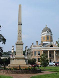 Jasper County Courthouse, Monticello, Ga.