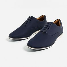 Image 3 of OXFORD STYLE CASUAL SHOES from Zara