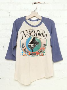 Vintage Neil Young with Crazy Horse Tour Tee
