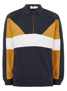 Shop men's New In This Week at Topman for a stylish and affordable look. Mens Sweatshirts, Men's Hoodies, Sweats Outfit, Rugby, Mustard, Man Shop, Guys, Trending Outfits, Stylish
