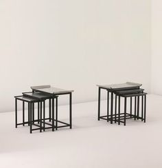 NILS FOUGSTEDT AND BJÖRN TRÄGÅRDH Pair of 'Noah's Ark' nesting tables, model no. 423, 1929