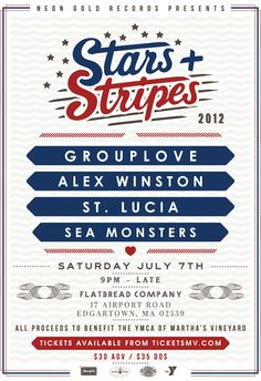 2nd Annual Stars + Stripes Festival - come see Grouplove St. Lucia and more!  http://pointbrealty.com/marthas-vineyard-real-estate/?p=5136