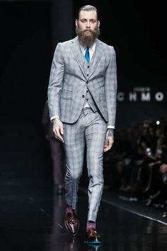 John Richmond Fall 2015 Menswear Fashion Show