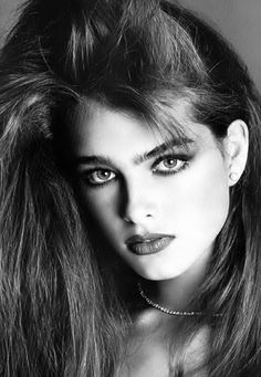 Brooke Shields by Francesco Scavullo.
