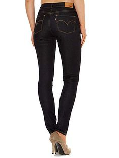 High rise skinny jeans in Extra Shade Levis T Shirt, Denim Shirt, Black Jeans Women, Skinny Legs, Stretch Jeans, Jeans Style, Clothes For Women, Lady, Jeans Fashion