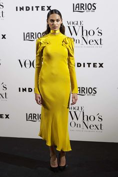 Model Dalian Arekion attends the 'Vogue Who's On Next' party at the El Principito Club on May 18, 2017 in Madrid, Spain.